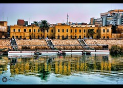 i love baghdad <3 (Aries Parcum) Tags: baghdad  tigrisriver         iraqoldhouseswaterboathired