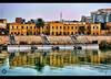 i love baghdad <3 (Aries Parcum) Tags: baghdad العراق tigrisriver ماء نهر بيوت يخت قديمة بغداد دجله ضفة iraqoldhouseswaterboathired