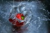 Making a Splash (inreflection) Tags: macro water closeup pepper nikon waterdrop nef drop h2o splash nikkor waterdrops liquid nikoncapture nikondslr nikon55200 nikond600