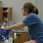 "<b>Physiology of Exercise</b><br/> Physiology of Exercise Lab, Spring of 2013. Instructed by Brian Solberg. Photograph by Jaimie Rasmussen<a href=""http://farm9.static.flickr.com/8235/8534650273_d40c7a78a6_o.jpg"" title=""High res"">∝</a>"