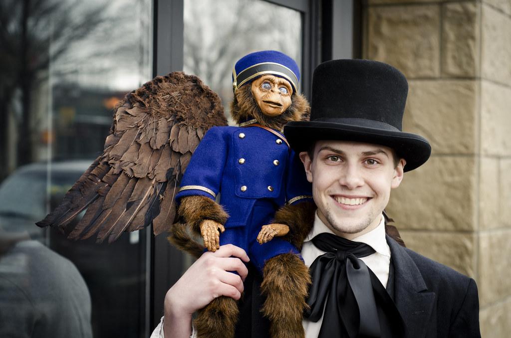 The Flying Monkey Codename Tags Portrait People Wings Edmonton Locals Oz Disney