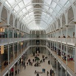 The Great Hall in the National Museum of Scotland