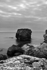 A Talis, Menorca (50josep) Tags: blackandwhite beach nocturna invierno puestadesol menorca biancoenero whiteandblack canon40d 50josep geomenorca geomenorcaonlythebest