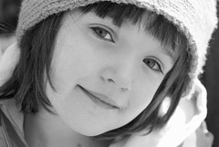 Charlie's Face (B&W) (Chagab) Tags: pictures street colors beautiful kids children 50mm photo kid model nikon child kinder kind fotos enfants d200 enfant