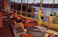 (1950sUnlimited) Tags: travel fun bars sightseeing restaurants leisure 1960s vacations inns midcentury lobbies lounges postcardes