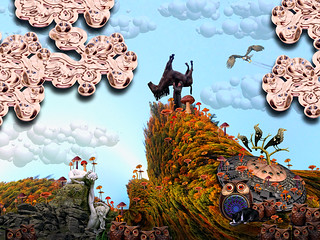 LARRY CARLSON, Land of Magica, c-print, 36x48in, 2013.