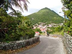 The Road to Windwardside (Arian Durst) Tags: road mountain saba long caribbean winding pathway netherlandsantilles dutchantilles windwardside mountscenery