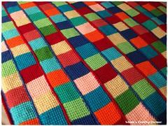 Tunisian Crochet Afghan (lndyf9) Tags: crochet blanket woolrockmanallittlepeachtop