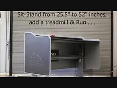 9X Media Multi-Screen Sit Stand Display Height Adjustable Desks (9X Media Video Wall) Tags: desk amx height adjustable multimonitor sitstanddesk multiscreenworkstation multidisplaystand pcintegratedfurniture videowallfurniture