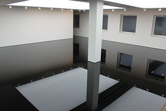 Richard Wilsons 20:50 Oil Room @ Saatchi Gallery (Amelie_G) Tags: reflection art museum gallery room illusion richard oil wilson saatchi 2050 comtemporary