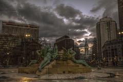 Swann Memorial Fountain (callmeflea) Tags: philadelphia cityhall clocktower philly philadelphiacityhall swannmemorialfountain