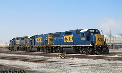 CSX Geeps @ Decatur, IL (CQDX018) Tags: photography illinois lafayette tate ns norfolk central railway southern transportation decatur etc facility railfan hannibal switcher lyle subdivisions railfanning csxt 1542 8934 9110 c409w gp151 geeps 9897 cqdx018