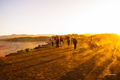 Photographers At Sunrise (stephencurtin) Tags: california morning school people usa beach water sunrise point bay early high brush class hills master cameras adults fundraiser morro thechallengefactory ultimategrind thepinnaclehof mpe2012 tphofweek200