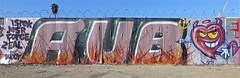 AUB (graffinspecter) Tags: california street art cali graffiti la los angeles tag tags crew forge graff tagging aub aubs zeal jesr isrek