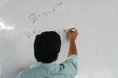 WDE1 (25) (Community of Physics) Tags: 1st workshop differential equations community physics wwwcommunityofphysicsorg calculus integral integration superposition technique oscillation drag force four day linear cauchy euler suritola bangladesh bgd mobile registration order damped driven projectile fourier series