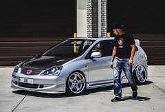 Ovi's static EP3 on SSR Wheels (RashaudR | Photography) Tags: honda ep3 stancenation stance low lowered lifestyle