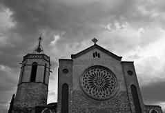 290/365 (Susana RC) Tags: 365 blancoynegro monocromtico iglesia granollers