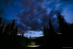 Bear Country (john&mairi) Tags: sunpeaks resort tod mountain ski night stars clouds le silhouette torch pine trees bears kamloops bc britishcolumbia canada