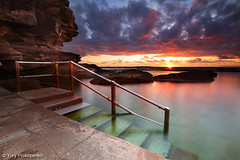 Steps into the Ocean (renatonovi1) Tags: sunrise pool ocean sydney curlcurl nsw australia beach sea steps rocks landscape seascape