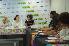 Oficina do Grupo de Trabalho de Jovens Lideranças com ênfase em gênero e raça