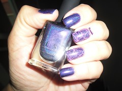 Purple Plasma - ILNP (Raabh Aquino) Tags: unhas esmaltes ilnp roxo holográfico holographic nails nailpolish purple