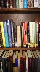 Bookcrossing releases. (zimort) Tags: bok bookcrossing wildrelease gjvikgrd drengestua gjvik old museum bokhylle bokbyttehylle booksshelf bookexchangeshelf
