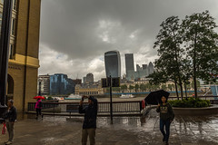 Cameras in the Rain (trevorhicks) Tags: rain camera photograpther london thames