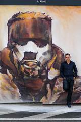 URBANA inauguration BNP - Artistes devant leurs oeuvres (saigneurdeguerre) Tags: europe europa belgique belgium belgi belgien belgica bruxelles brussel brssel brussels bruxelas streetart street streetshot art graffiti artiste urbana asbl canon 7d mark ii 2 interfaces