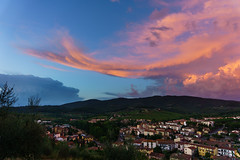 Before the storm (pucek) Tags: greve chianti italy clouds landscape