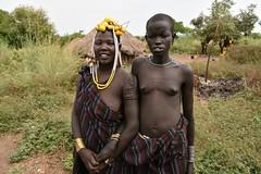 Mursi women (12) (Prof. Mortel) Tags: ethiopia omovalley mursi