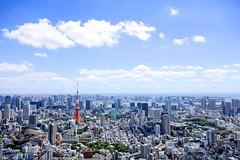 THE TOKYO 02 (sunuq) Tags: eos canon 5dsr ef24105mmf4lisusm ef24105mm tokyo japan    tokyotower  outdoor sky architecture skyline city
