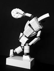 Discobolus (askansbricks) Tags: lego ancient greece discobolus diskobolus creator architecture sculpture art