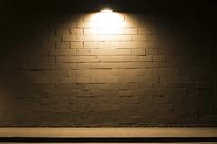Brick Wall (Curtis Gregory Perry) Tags: oregon night brick wall light sidewalk nikon d800e longexposure molalla usa unitedstates america united states natë gau ноч нощ nit noc nat νύχτα notte nakts naktis noite lejl natt ночь éjszaka נאַכט रात 夜 夜晚 đêm gece nag usiku dare bosiu gabii gabi wengi alina malam po