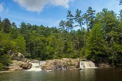 Linville Falls (EHPett) Tags: northcarolina blueridgeparkway outdoors landscape trees linvillefalls waterfall street creek rocks