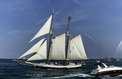 Tall ships 2016 Madeline (Artemortifica) Tags: boats chicago navypeir tallships band clouds fountains garden lakemichigan sailors sails skyline summer illinois