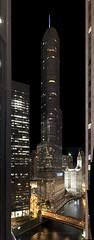 Trump Tower - 20160921  Chicago, IL ( concord) Tags: city landscape lights night chicago il illinois usa 31662 trump trumptower