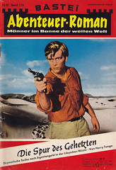 Abenteuer-Roman 119 (micky the pixel) Tags: groschenromane groschenheft dimenovels pulp vintage abenteuerroman basteiverlag harrytonga diespurdesgehetzten wste desert libyen