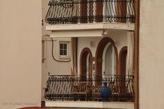 Sitges.Catalonia. (Natali Antonovich) Tags: sitgescataloniaspain sitges catalonia spain lifestyle seashore seasideresort seaside seaboard architecture balcony vase window