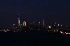 Tribute in Light (Triborough) Tags: ny nyc newyork newyorkcity richmondcounty statenisland fortwadsworth park nationalpark nps nationalparkservice