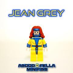 Jean Grey [MOC] [COMICS] [90s X-MEN] (agoodfella minifigs) Tags: lego marvel marvellego legomarvel minifigures marvelcomics comics heroes xmen jeangrey moc marvelheroes classic