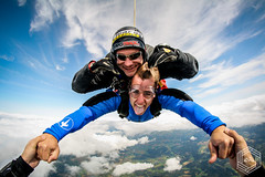 (mathieufournel) Tags: skydiving sky flying jumping blueskies action sports