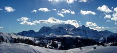 Sun and snow in the Dolomites (giorgiorodano46) Tags: gennaio2005 january 2005 giorgiorodano winter inverno neve snow nuvole clouds sci ski corvara corvarainbadia marmolada dolomiti dolomites unesco altoadige sudtirolo italy