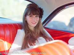 Driving Miss Challis (Alaskan Dude) Tags: idaho melba celebrationpark photoshoot photoshoots people portrait fashion models vintage retro pinup