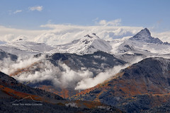Calm After Storm (From The High Country) Tags: fromthehighcountry mountains colorado rockymountains rockies fallcolors fall clouds snow