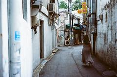 Seoul streets (vixalice) Tags: asian asia seoul south korea streetphotography streetlife street urban lomography filmphotography film film35 35mm analog retro leica leicacl kodak ektar