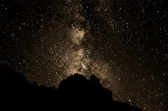 The Night Sky Above Kalalau (wrgenec) Tags: milky way kalalau beach hawaii kauai outdoors stars sky night photography mountains gazing backpacking camping