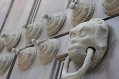 Aldabn y rosetones (juanfrancisco_vi) Tags: iglesia convento san francisco de lima peru church