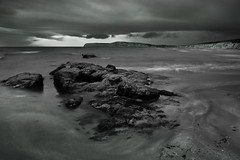 Purple sky rework.jpg (Kinesthesis) Tags: sea rock waves purple solent iow seascapecomptonbay
