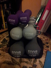 (faith_roberts97) Tags: ennis fitness weights dumbbells flickrandroidapp:filter=none