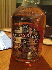 A little Chivas Regal still undrunk... (spelio) Tags: australia 2010 email whisky whiskey scotch blended label